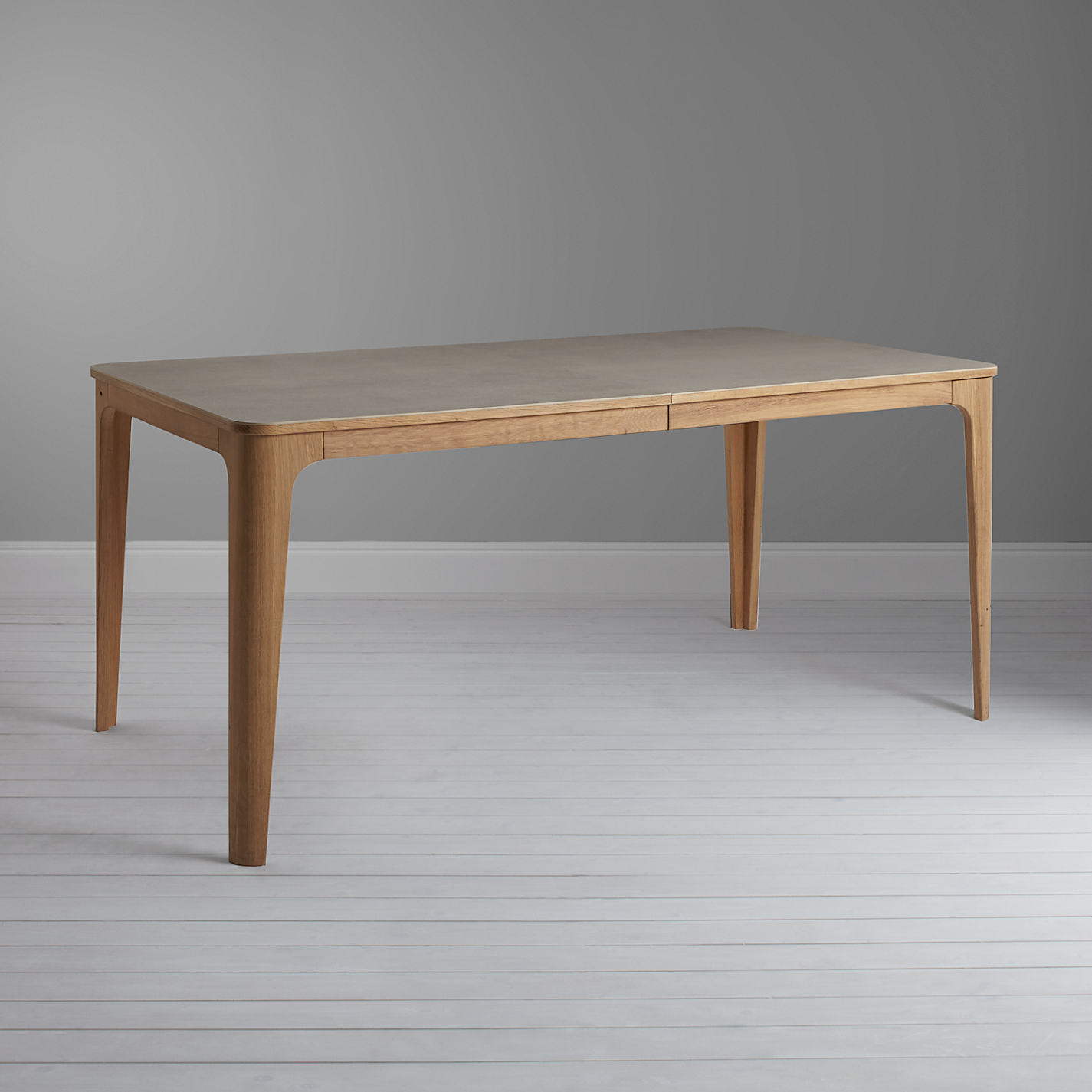 Buy Ebbe Gehl For John Lewis Mira Ceramic Top Oak Dining Table Online At Johnlewis