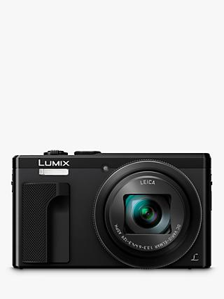 "Panasonic Lumix DMC-TZ80EB Super Zoom Digital Camera, 4K Ultra HD, 18.1MP, 30x Optical Zoom, Wi-Fi, EVF, 3"" LCD Touch Screen"