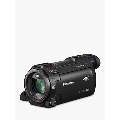 Panasonic HC-VXF990EBK 4K Ultra HD Camcorder, 8.29MP, 20x Optical Zoom, Wi-Fi, Cinema Effects & 3 Touch Screen, Black