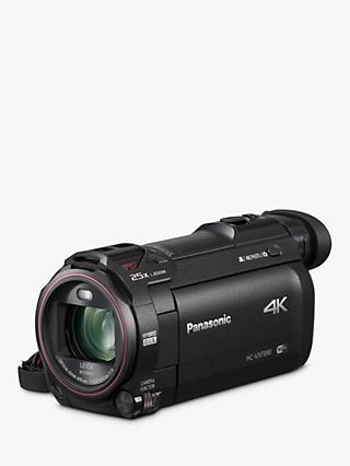 "Panasonic HC-VXF990EBK 4K Ultra HD Camcorder, 8.29MP, 20x Optical Zoom, Wi-Fi, Cinema Effects & 3"" Touch Screen, Black"