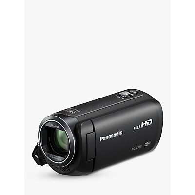Image of Panasonic HC-V380EB Camcorder, Wi-Fi, HD 1080p, 2.5MP Movie/10MP Still, 50x Optical Zoom, 90x Intelligent Zoom, 2.7 Wide LCD Touch Monitor