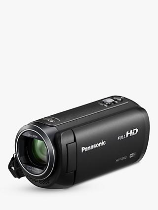 "Panasonic HC-V380EB Camcorder, Wi-Fi, HD 1080p, 2.5MP Movie/10MP Still, 50x Optical Zoom, 90x Intelligent Zoom, 2.7"" Wide LCD Touch Monitor"