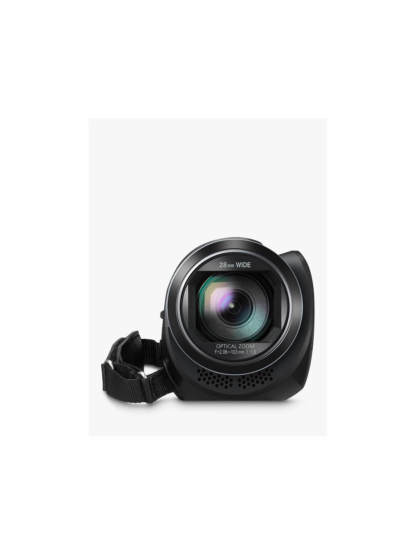 Panasonic HC-V380EB Camcorder, Wi-Fi, HD 1080p, 2 5MP Movie/10MP Still, 50x  Optical Zoom, 90x Intelligent Zoom, 2 7