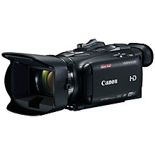 "Buy Canon LEGRIA HF G40 Camcorder, HD 1080p, 3.09MP, 20x Optical Zoom, Optical Image Stabiliser, Wi-Fi, 3.5"" Touch Screen Variangle Display With Wireless Controller Online at johnlewis.com"