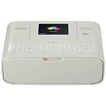 "Buy Canon SELPHY CP1200 Portable Photo Printer With Wi-Fi, Apple AirPlay & 2.7"" Tiltable Display Online at johnlewis.com"