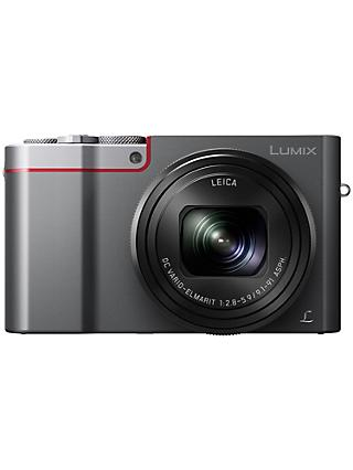 "Panasonic Lumix DMC-TZ100EB Digital Camera, 4K Ultra HD, 20.1MP, 10x Optical Zoom, Wi-Fi, EVF, 3"" LCD Touch Screen"