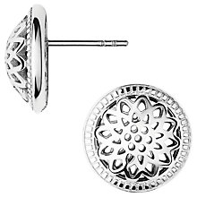 Buy Links of London Timeless Domed Stud Earrings, Silver Online at johnlewis.com