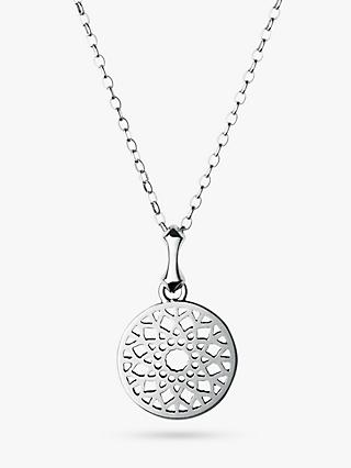 Links of London Timeless Small Pendant Necklace, Silver