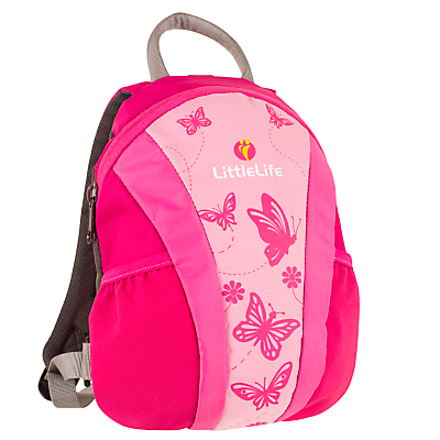 Product photo of Littlelife runabout toddler backpack pink