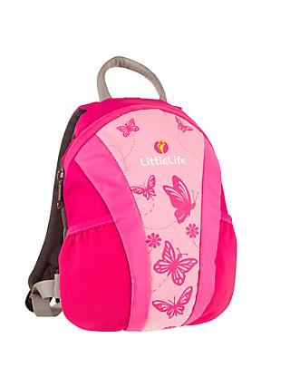 LittleLife Runabout Toddler Backpack, Pink