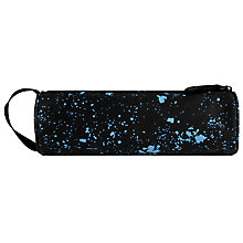 Buy Mi-Pac Splatter Print Pencil Case, Black/Blue Online at johnlewis.com