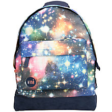 Buy Mi-Pac Custom Galaxy Backpack, Blue/Multi Online at johnlewis.com
