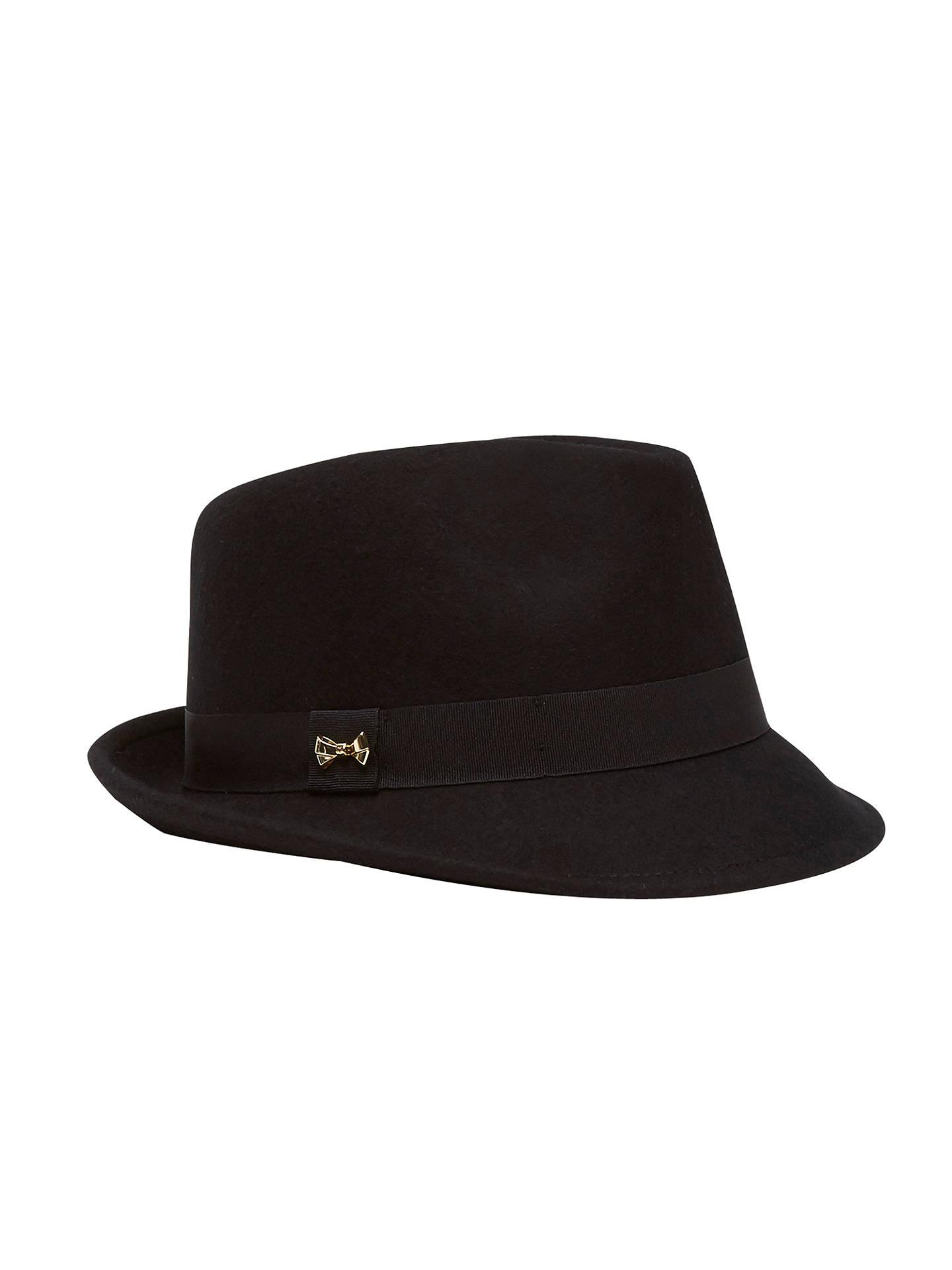 16d1b9cca8c BuyTed Baker Tyli Wool Mini Bow Detail Trilby Hat