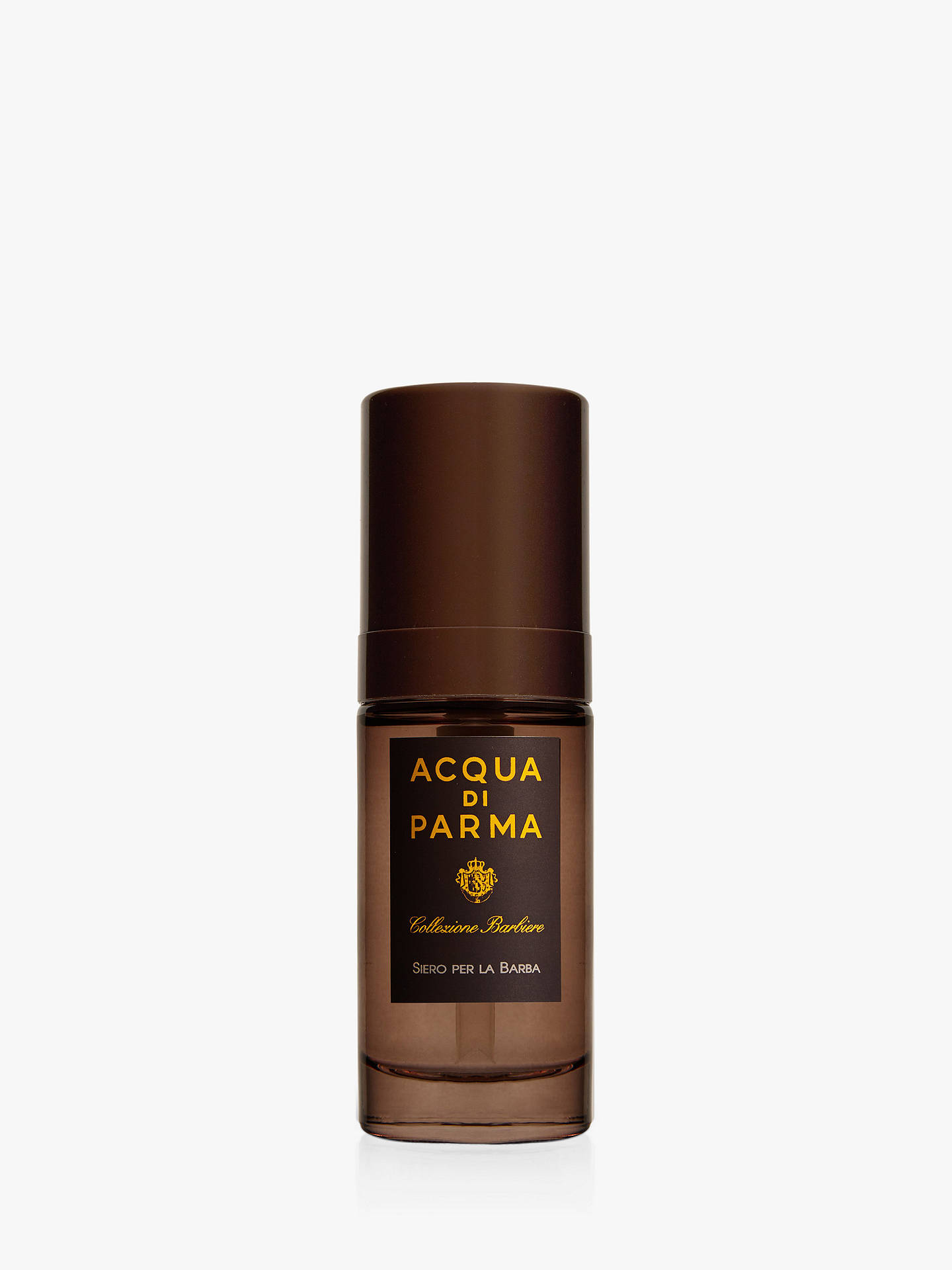 Buy Acqua di Parma Collezione Barbiere Beard Serum, 30ml Online at johnlewis.com