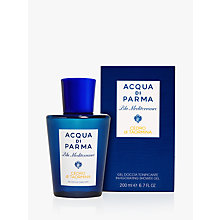 Buy Acqua di Parma Blu Mediterraneo Cedro Di Taormina Shower Gel, 200ml Online at johnlewis.com