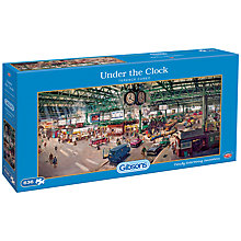 Buy Gibsons Under The Clock Jigsaw Puzzle, 636 Pieces Online at johnlewis.com