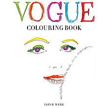 Buy Vogue Colouring Book Online at johnlewis.com