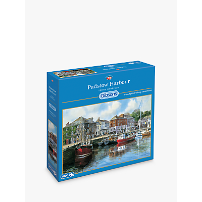 Image of Gibsons Padstow Harbour Jigsaw Puzzle, 1000 Pieces