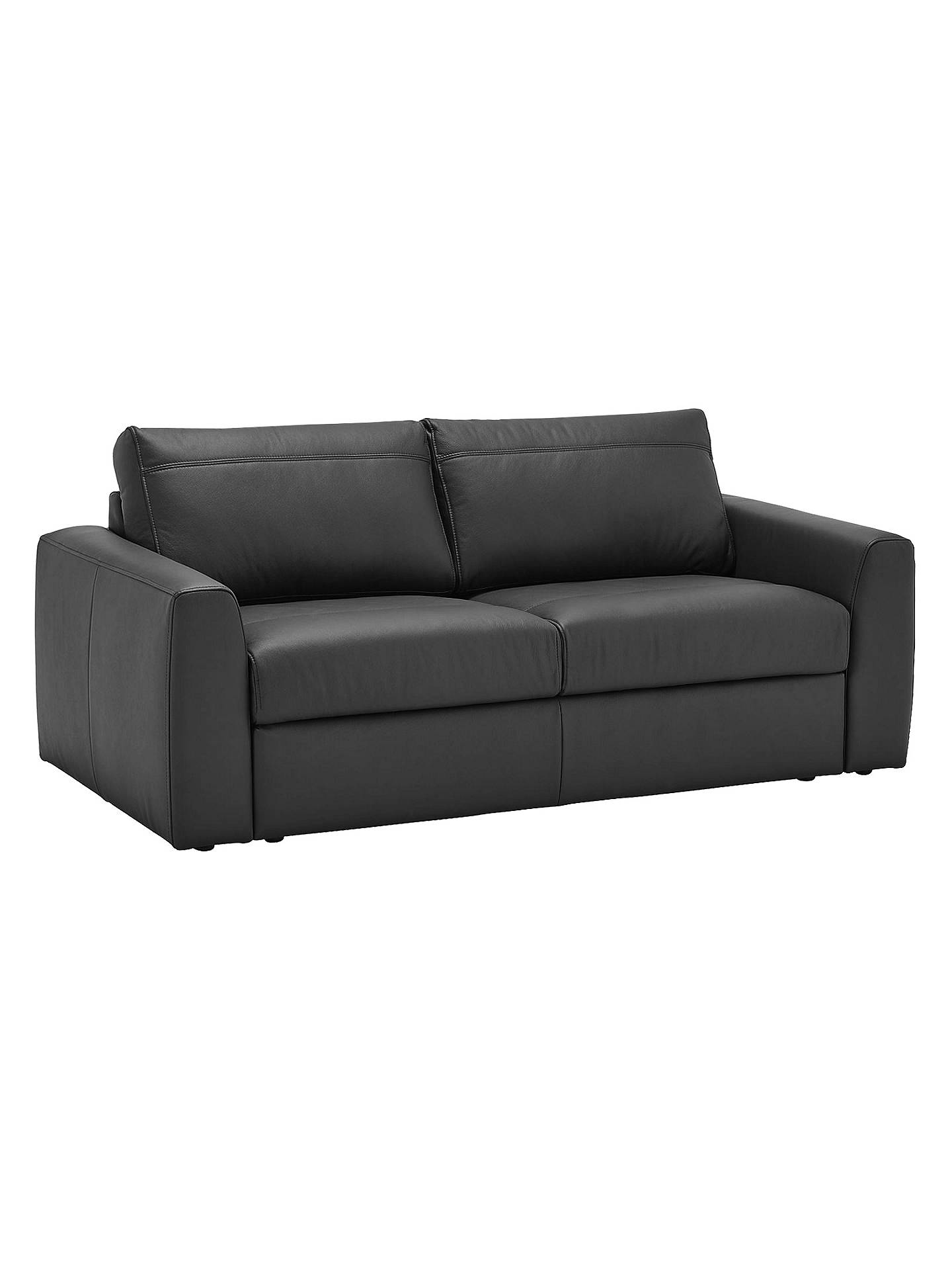 house by john lewis finlay ii sofa bed leather with foam. Black Bedroom Furniture Sets. Home Design Ideas