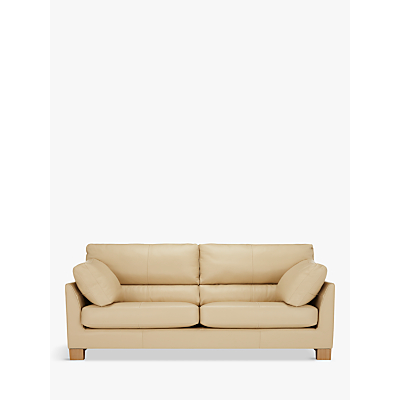 John Lewis Ikon High Back Grand 4 Seater Leather Sofa