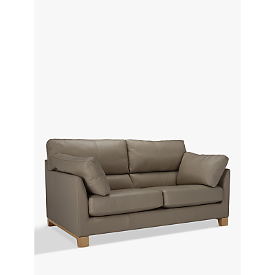 John Lewis Ikon High Back Medium 2 Seater Leather Sofa