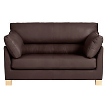 Buy John Lewis Ikon High Back Leather Snuggler Online at johnlewis.com