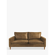 Buy John Lewis Bailey Small 2 Seater Leather Sofa Online at johnlewis.com