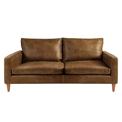 John Lewis Bailey Small 2 Seater Leather Sofa