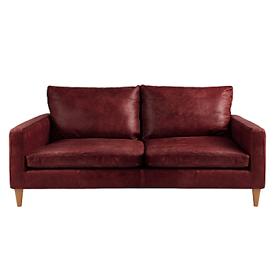 John Lewis Bailey Small 2 Seater Leather Sofa