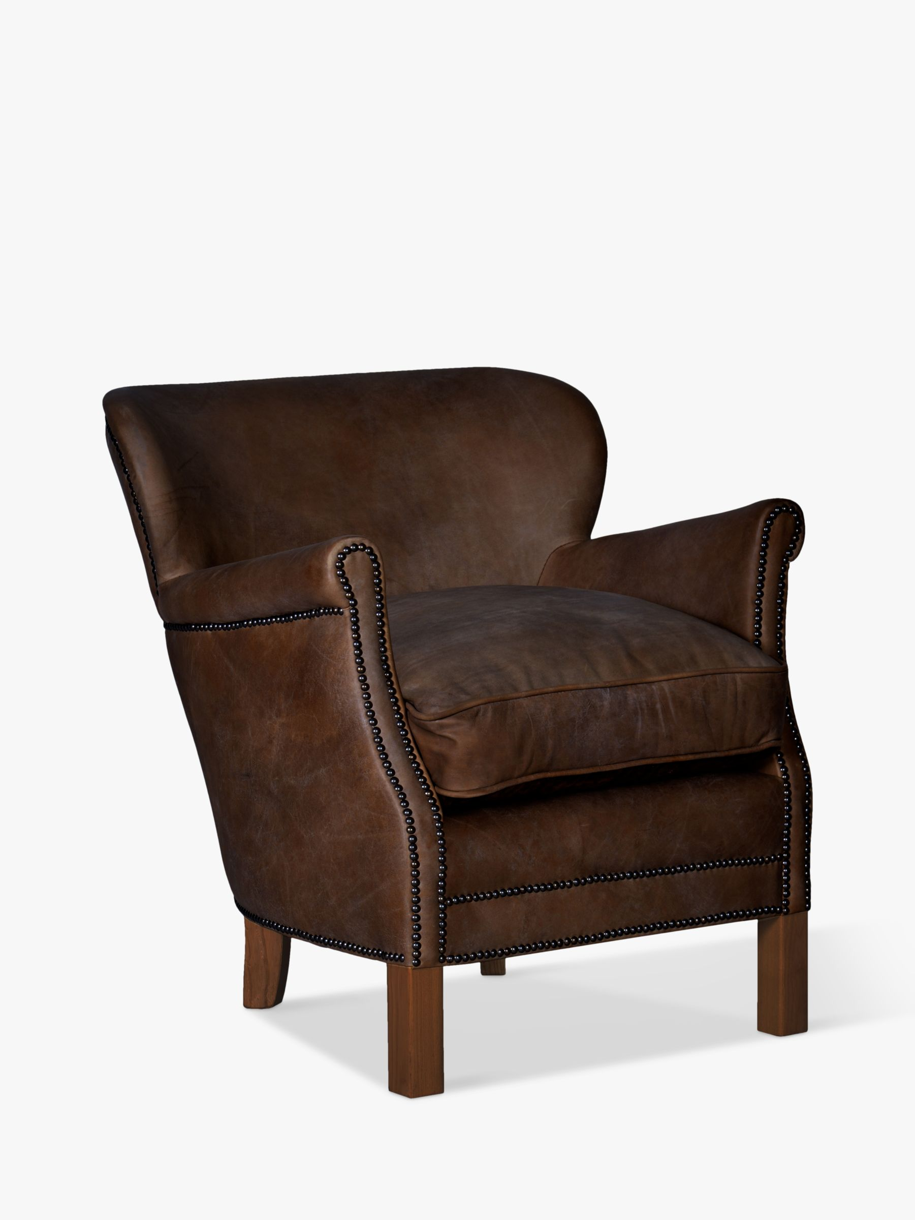 Halo Halo Little Professor Leather Armchair