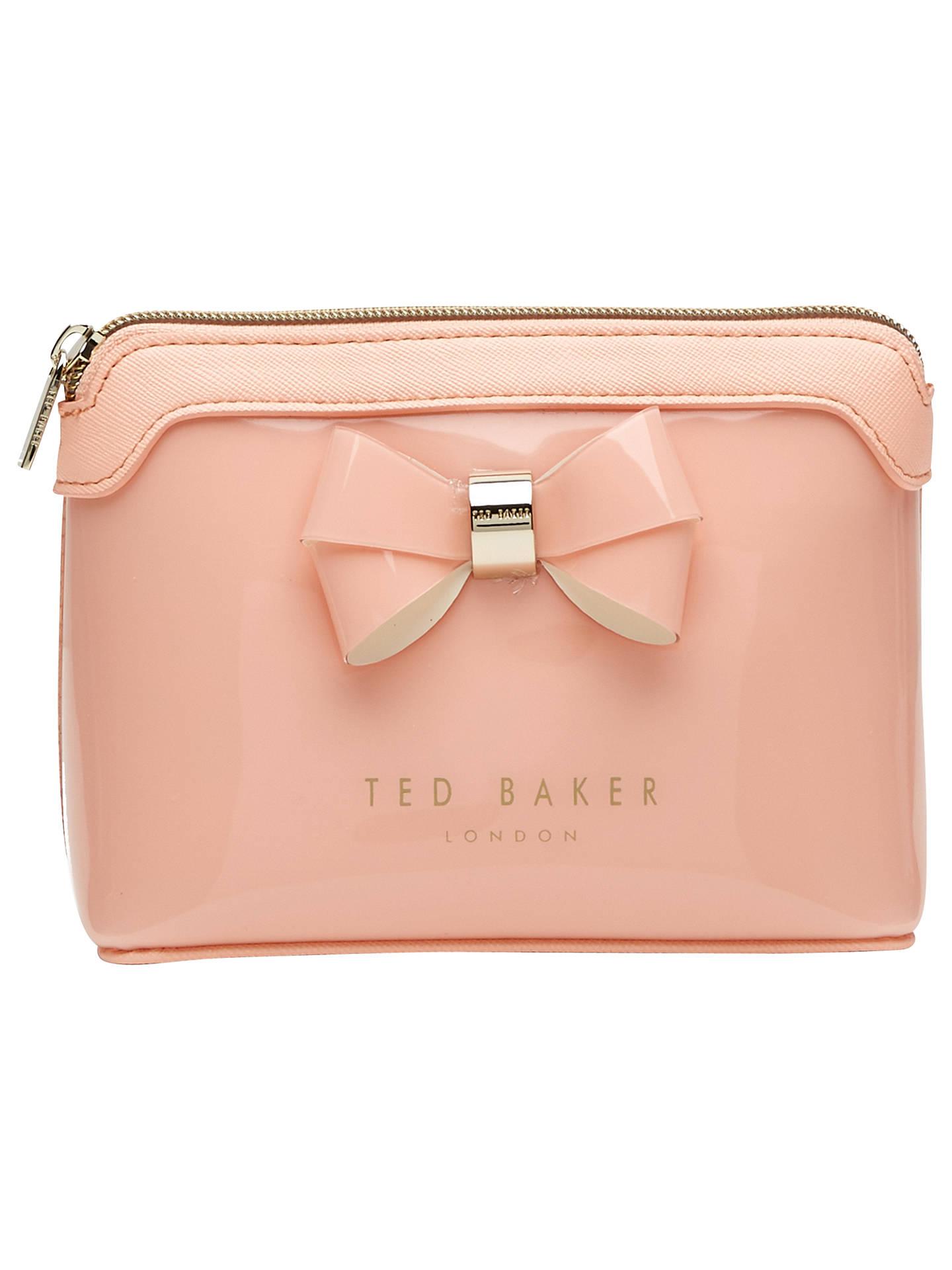8f250456caca Ted Baker Harloe Bow Makeup Bag at John Lewis   Partners