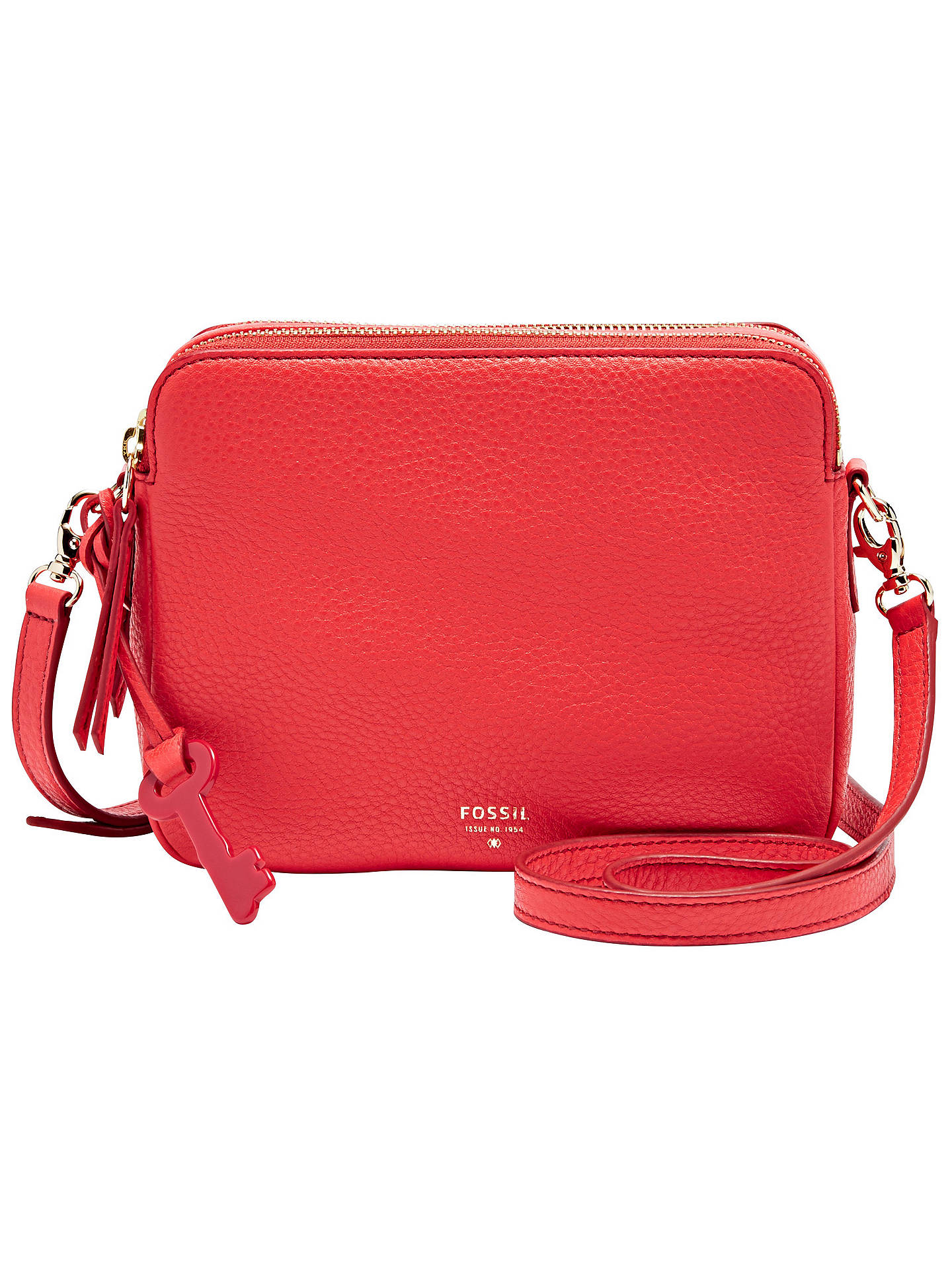 BuyFossil Sydney Leather Crossbody Bag 18f7769dd5df9