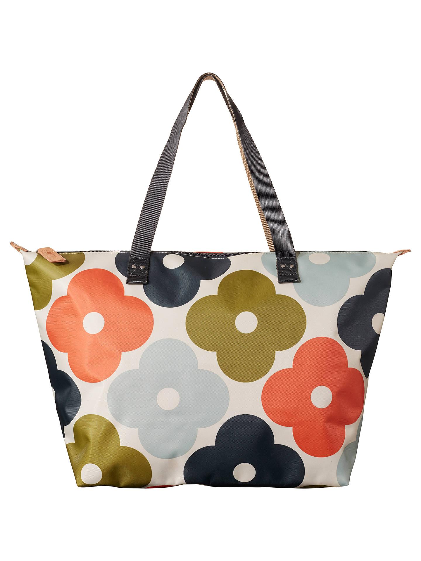 Orla Kiely Flower Zip Per Bag Multi At John Lewis