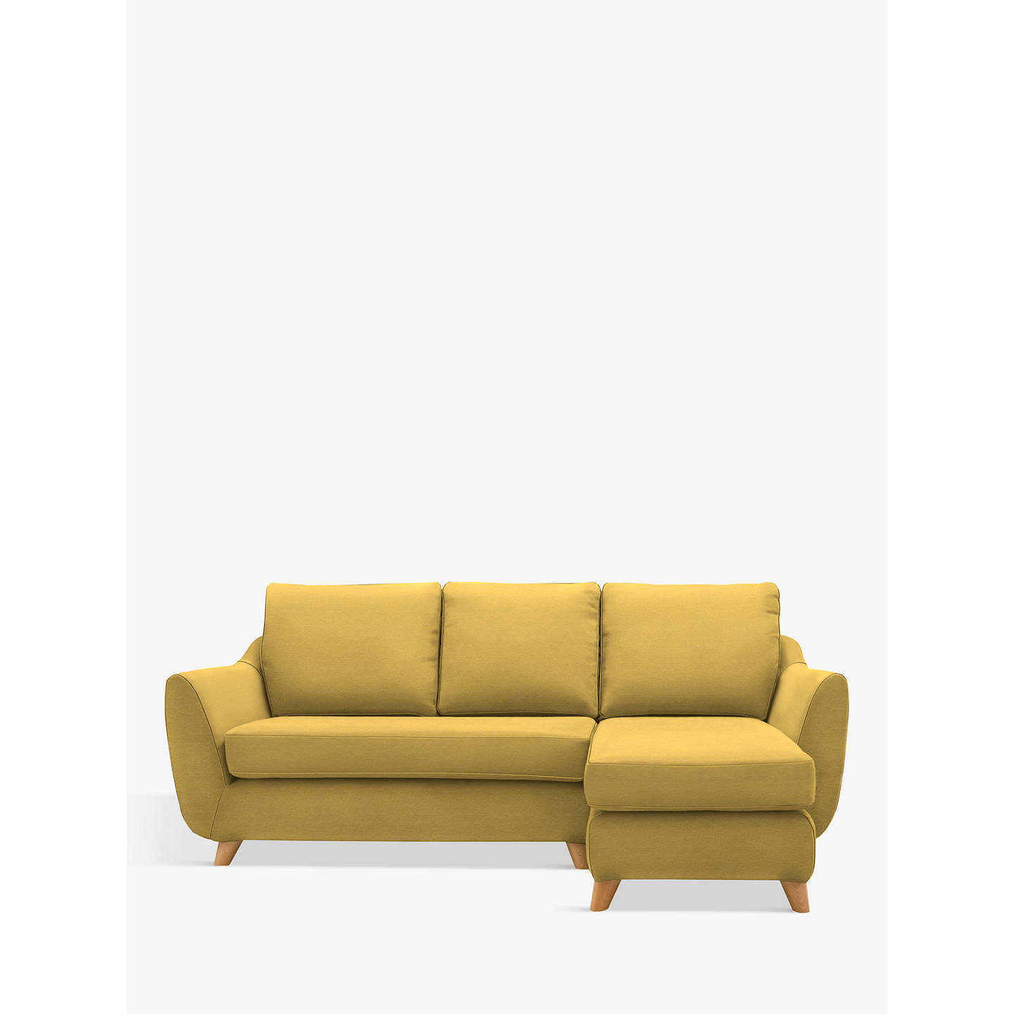 G Plan Vintage The Sixty Seven Rhf Chaise End Sofa Tonic Mustard Online At Johnlewis