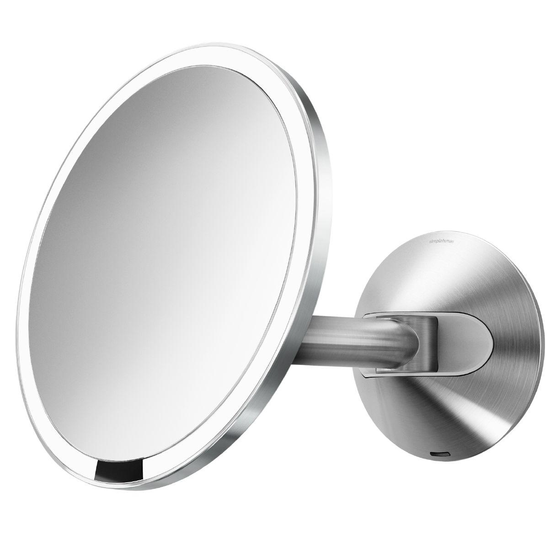 Simplehuman simplehuman Wall Mounted Bathroom Sensor Mirror, Mains Operated