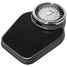 Buy Salter Academy Bathroom Scale, Black Online at johnlewis.com