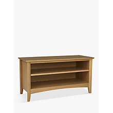 Buy John Lewis Alba Shoe Bench Online at johnlewis.com