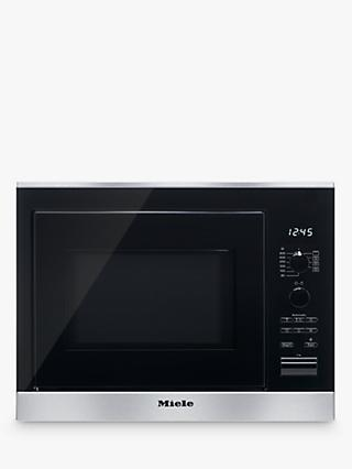 Miele M6022sc Built In Microwave Oven Clean Steel