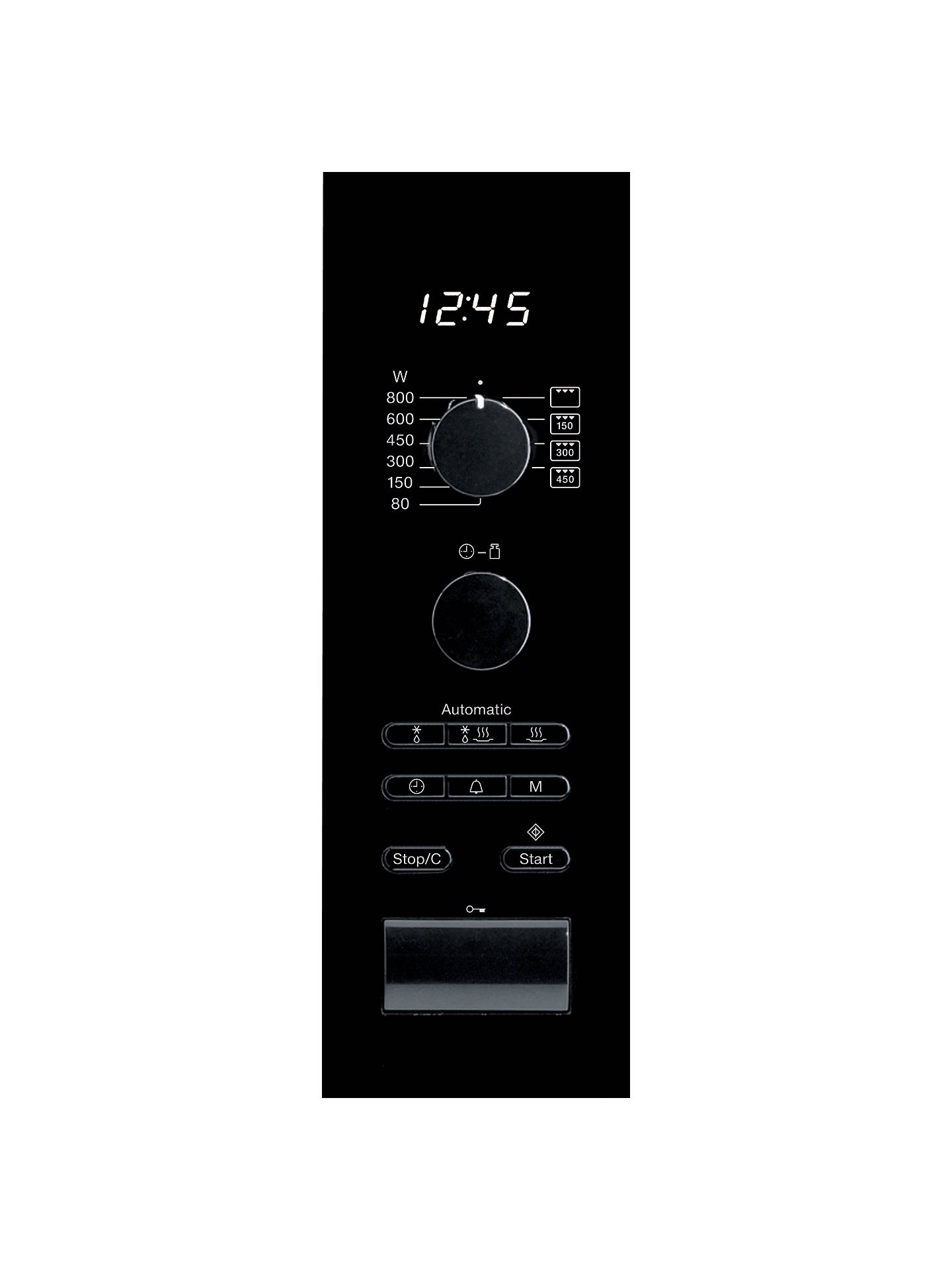 Buy Miele M6022SC Built-In Microwave Oven, Clean Steel Online at johnlewis.com