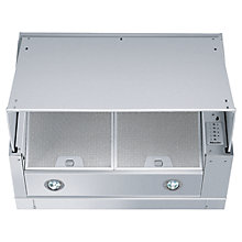 Buy Miele DA186 Integrated Cooker Hood, Stainless Steel Online at johnlewis.com