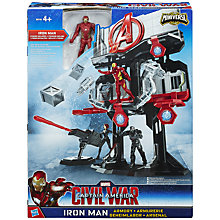 Buy The Avengers Captain America Civil War Iron Man Armoury Online at johnlewis.com