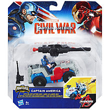 Buy Marvel Captain America Combat Racer, Assorted Online at johnlewis.com