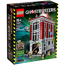 Buy LEGO Ghostbusters 75827 Firehouse Headquarters Online at johnlewis.com