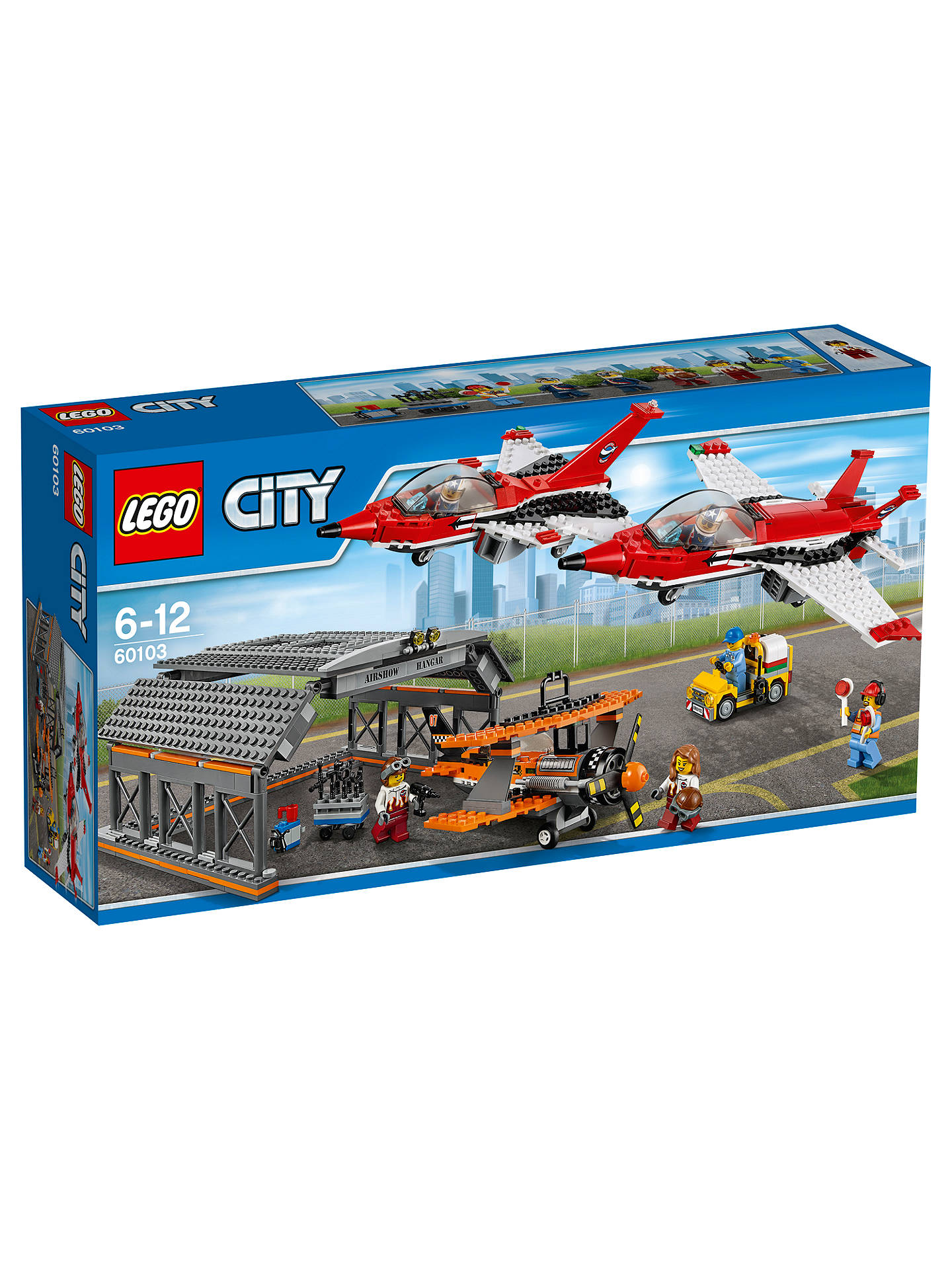 lego 60103 airport air show at john lewis partners. Black Bedroom Furniture Sets. Home Design Ideas