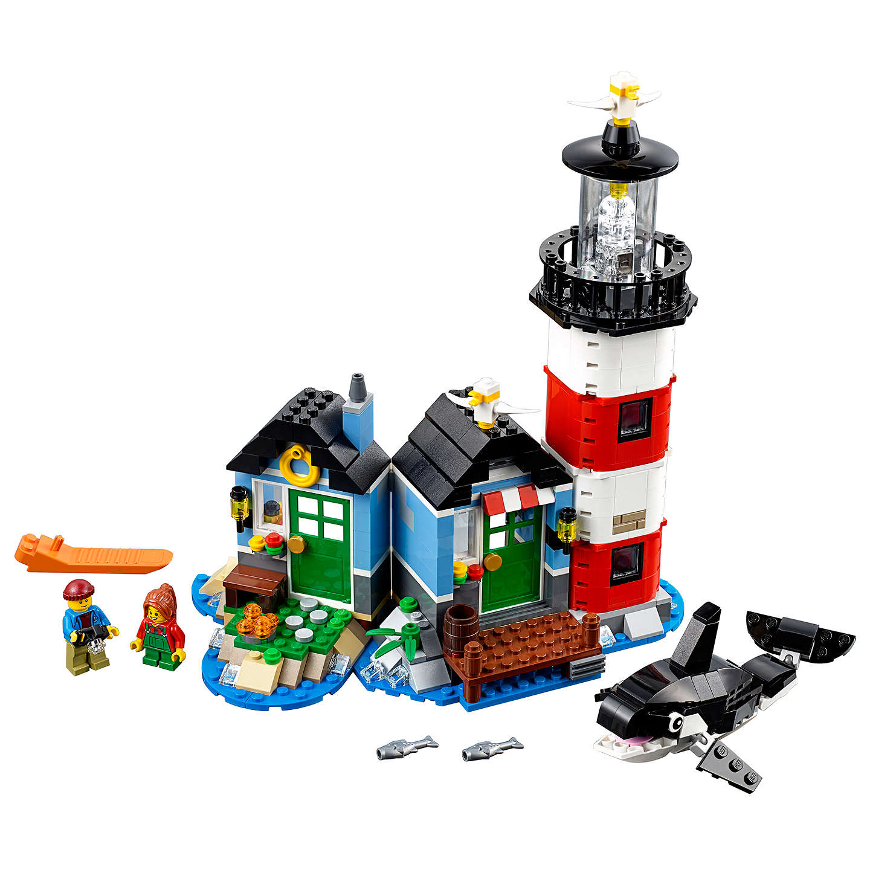 lego creator 31051 lighthouse point at john lewis. Black Bedroom Furniture Sets. Home Design Ideas