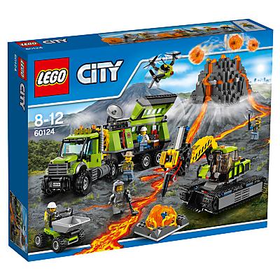 Image of LEGO City 60124 Volcano Exploration Base