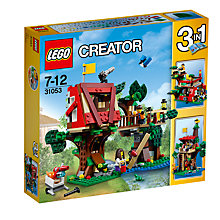Buy LEGO Creator 31053 Treehouse Adventure Online at johnlewis.com
