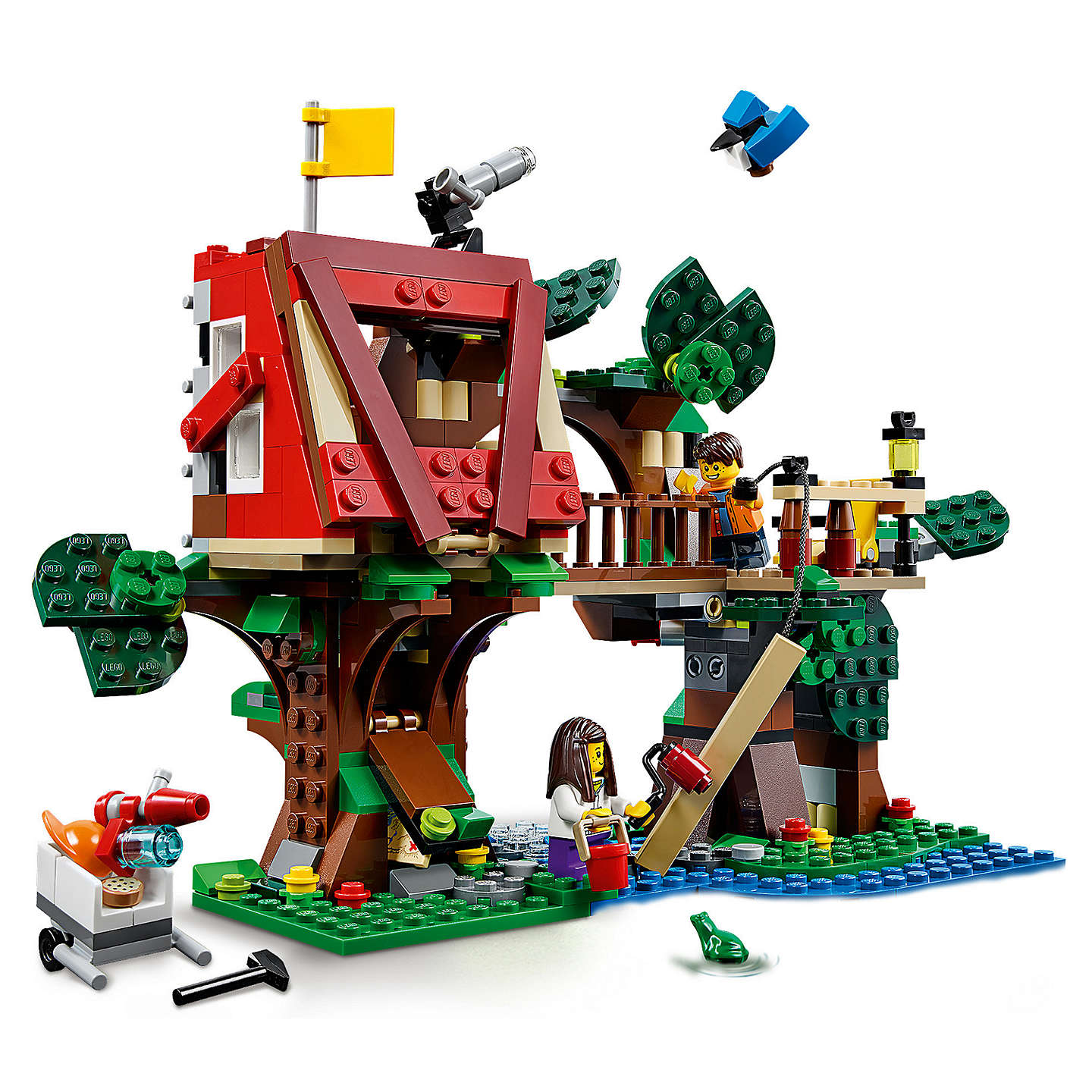 Buylego Creator 31053 Treehouse Adventure Online At Johnlewiscom