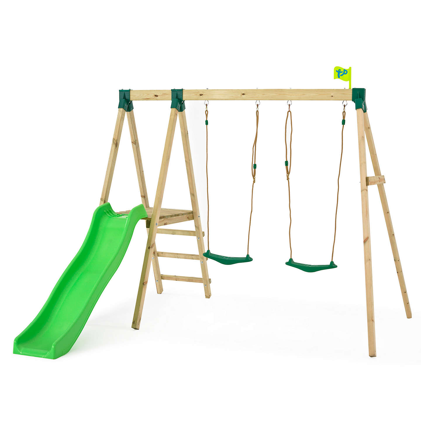BuyTP Toys Forest Slide and Swing Multiplay Set Online at johnlewis.com