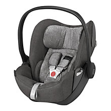 Buy Cybex Cloud Q Group 0+ Baby Car Seat, Manhattan Grey Lux Fabric Online at johnlewis.com
